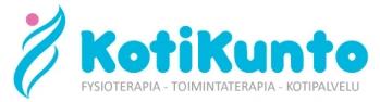 Kotikunto  – Kotipalvelu – Fysioterapia – Toimintaterapia – Kuopio – Nilsiä – Siilinjärvi Logo